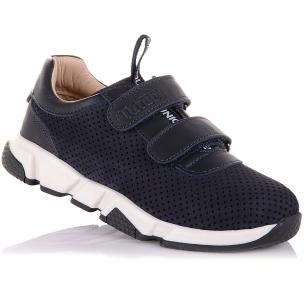 Детская обувь PERLINKA (Кроссовки из кожи и нубука (перфорация))