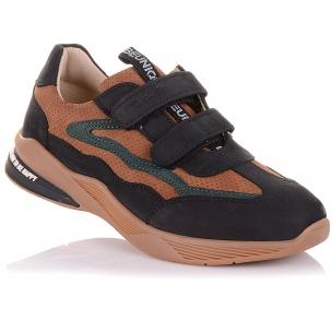 Детская обувь PERLINKA (Кроссовки из нубука на липучках)