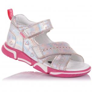 Детская обувь PERLINKA (Босоножки из кожи с закрытой пяткой)