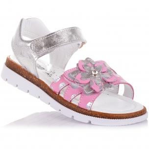 Дитяче взуття PERLINKA (Полегшені босоніжки зі шкіри та нубуку на липучках)