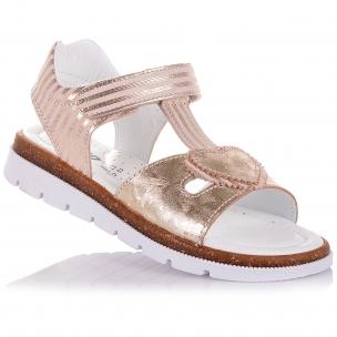 Дитяче взуття PERLINKA (Стильні босоніжки зі шкіри на липучці)