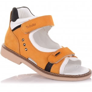 Дитяче взуття PERLINKA (Босоніжки з нубуку з ортопедичною підошвою)