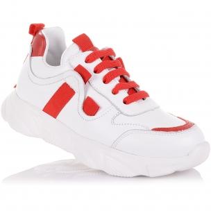 Детская обувь PERLINKA (Стильные кроссовки на шнуровке и молнии)