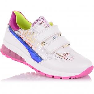 Детская обувь PERLINKA (Кроссовки на липучках с яркими элементами)