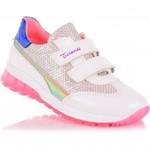 Детская обувь PERLINKA (Кроссовки из экокожи с яркой подошвой)