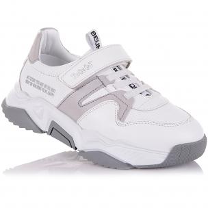 Дитяче взуття PERLINKA (Кросівки зі шкіри на масивній підошві)