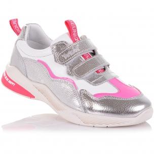 Детская обувь PERLINKA (Кроссовки из кожи с яркими элементами)