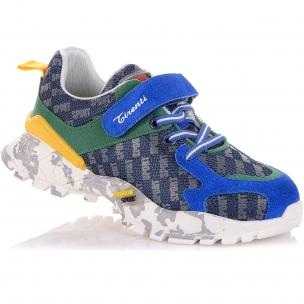 Детская обувь PERLINKA (Кроссовки из замша и текстиля на модной подошве)