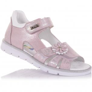 Дитяче взуття PERLINKA (Полегшені босоніжки з нубуку на липучках)