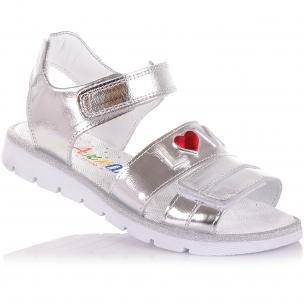 Дитяче взуття PERLINKA (Лакові босоніжки на липучках)