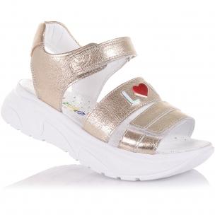 Дитяче взуття PERLINKA (Босоніжки зі шкіри на масивній підошві)