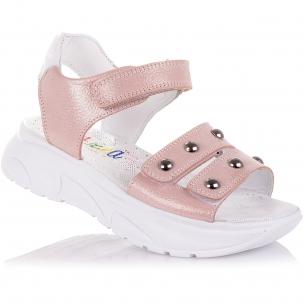 Дитяче взуття PERLINKA (Босоніжки з нубуку на масивній підошві)