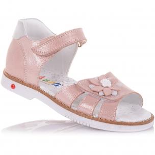 Детская обувь PERLINKA (Босоножки из нубука с ортопедической подошвой)