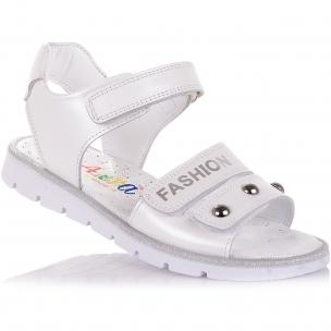 Детская обувь PERLINKA (Босоножки из кожи на липучках)