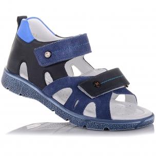 Детская обувь PERLINKA (Босоножки из кожи и замши с закрытым задником)