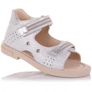 Детская обувь PERLINKA (Босоножки из нубука на липучках)