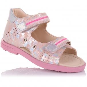 Детская обувь PERLINKA (Босоножки из нубука на облегченной подошве)