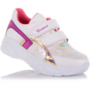 Детская обувь PERLINKA (Кроссовки из экокожи на массивной подошве)