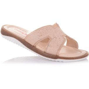 Детская обувь PERLINKA (Шлепанцы из нубука)