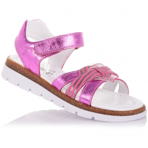 Детская обувь PERLINKA (Босоножки из кожи на одной липучке)