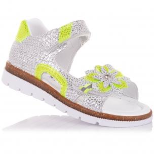 Детская обувь PERLINKA (Босоножки из кожи с яркими элементами)