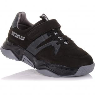 Детская обувь PERLINKA (Кроссовки из нубука на массивной подошве)