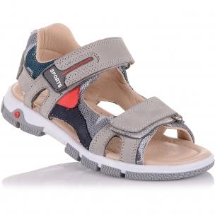 Детская обувь PERLINKA (Спортивные босоножки из нубука)