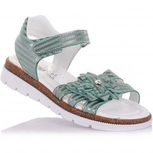 Детская обувь PERLINKA (Стильные босоножки из кожи на липучках)