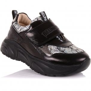Детская обувь PERLINKA (Школьные кроссовки из нубука на массивной подошве)