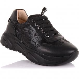 Детская обувь PERLINKA (Кроссовки из кожи и нубука на шнурках и молнии)
