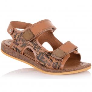 Детская обувь PERLINKA (Облегченные босоножки из кожи и нубука)