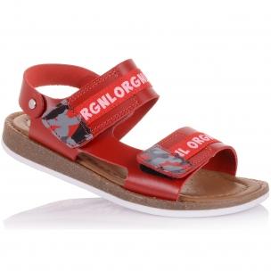 Дитяче взуття PERLINKA (Яскраві босоніжки з натуральної шкіри)