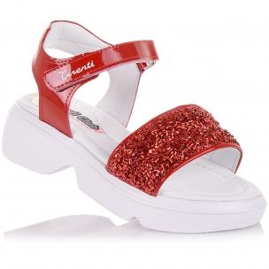 Дитяче взуття PERLINKA (Яскраві босоніжки на масивній підошві)