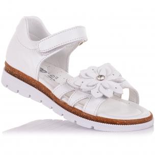 Детская обувь PERLINKA (Босоножки из натуральной кожи на липучках)