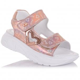 Детская обувь PERLINKA (Босоножки из кожи на массивной подошве)