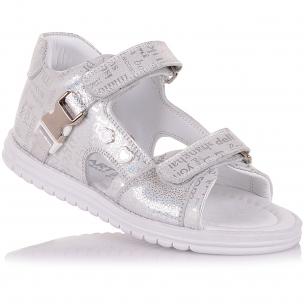 Детская обувь PERLINKA (Босоножки из нубука с закрытой пяткой)