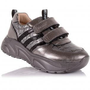 Детская обувь PERLINKA (Кроссовки из кожи на массивной подошве)