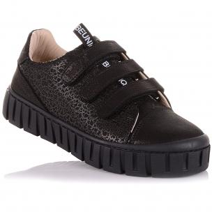 Дитяче взуття PERLINKA (Мокасини з нубуку на липучках)