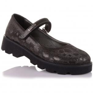 Детская обувь PERLINKA (Туфли из нубука на рифлёной подошве  )