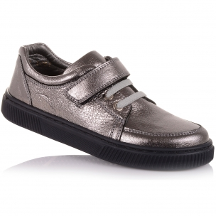 Детская обувь PERLINKA (Мокасины из кожи для школы )