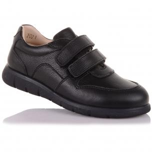 Детская обувь PERLINKA (Туфли из кожи на двух липучках )