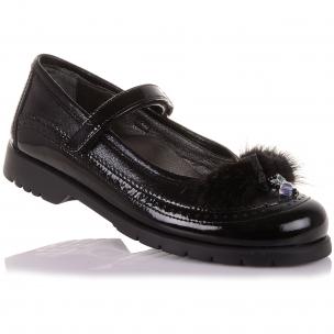 Детская обувь PERLINKA (Стильные школьные туфли из кожи )