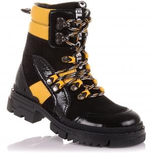 Детская обувь PERLINKA (Стильные демисезонные ботинки на шнурках и змейке )