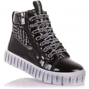 Детская обувь PERLINKA (Демисезонные ботинки из нубука на шнурках и на молнии)
