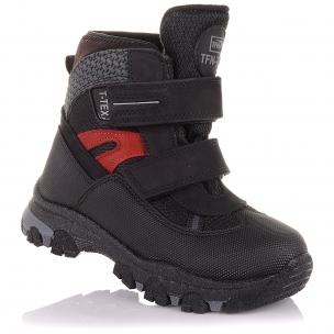 Детская обувь PERLINKA (Зимние ботинки из нубука с прорезиненным носком)