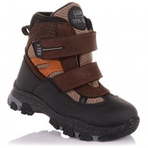 Детская обувь PERLINKA (Зимние ботинки из нубука с прорезиненной защитой)