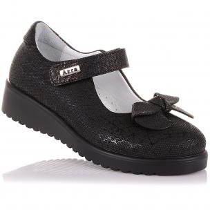 Детская обувь PERLINKA (Туфли из нубука с бантиком)