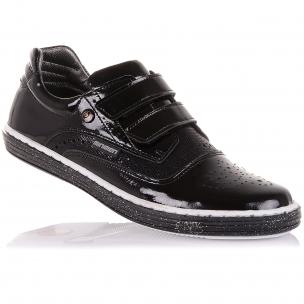 Детская обувь PERLINKA (Стильные мокасины из лаковой кожи)