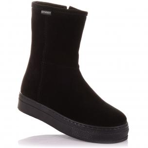 Детская обувь PERLINKA (Зимние ботинки из замша на змейке)
