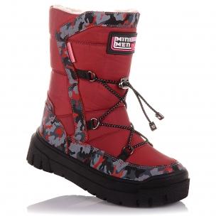 Дитяче взуття PERLINKA (Зимові черевики з нубуку та текстилю)